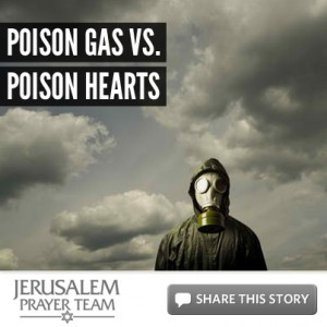 Poison Gas vs. Poison Hearts - Mike Evans - Jerusalem Prayer Team