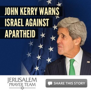 John Kerry warns Israel against Apartheid